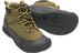 Keen Jasper Mid WP Shoes Youths Dark Olive/Black Olive